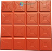 16 Square Box PVC Floor Tile Mould