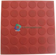 36-Round-Circle-Checkered-Tile-With-Matt-Finish- Floor Tiles Rubber Mould - Concrete Floor Tiles Plastic mould - plastci mould for cement tiles